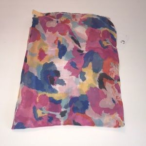 NWT Charming Charlie multi colored scarf